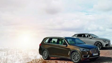 Proiecte secrete: Audi Q8 și BMW X7