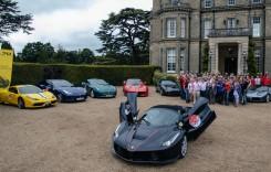 O paradă de zeci de milioane de euro – Londra a fost invadată de Ferrari