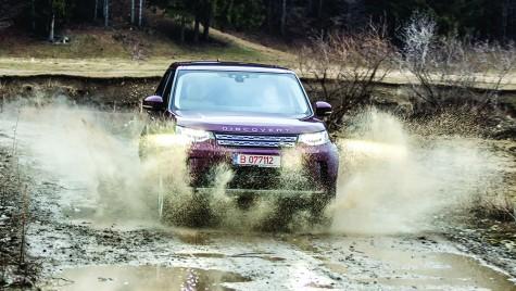 TEST Land Rover Discovery Sd4: Cățărător de lux