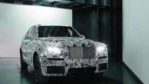 Pentru elite – Primul SUV Rolls-Royce, Cullinan, va fi prezentat la evenimente private