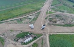 VIDEO: Autostrada Sebeș-Turda arată ca un traseu off-road
