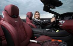 Simona Halep, ambasador Mercedes-AMG. Ce mașină conduce