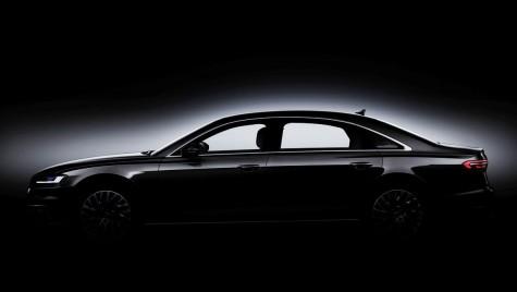 Noul Audi A8 e aici. Primele imagini oficiale