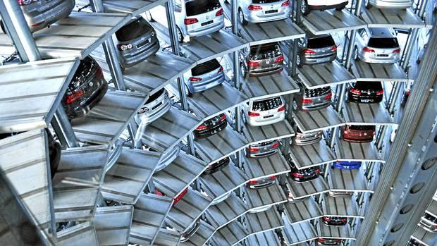 Top 10 locuri de parcare ingenioase