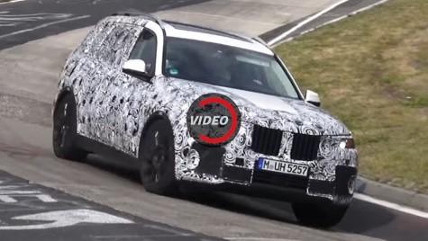 BMW X7, cel mai mare SUV BMW, testat pe Nurburgring