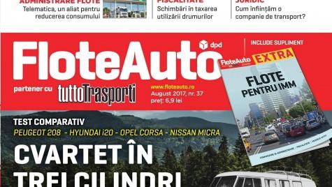 A apărut Flote Auto, iulie-august 2017