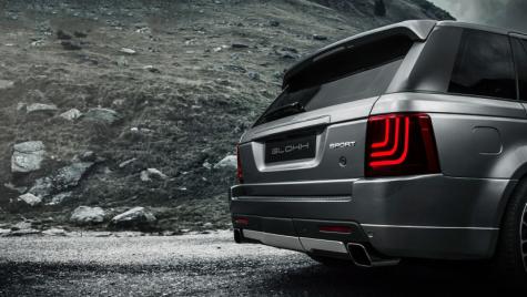 Noile stopuri cu led Glohh pentru Range Rover Sport