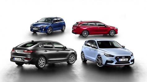 Hyundai prezinta i30 Fastback și i30 N cu 275 CP