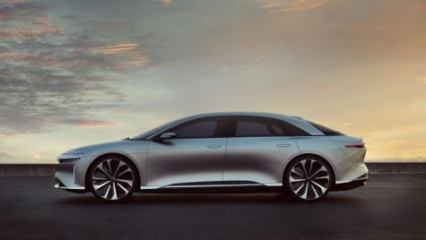 Lucid Air: Rivalul lui Tesla Model S va atinge 378 km/h