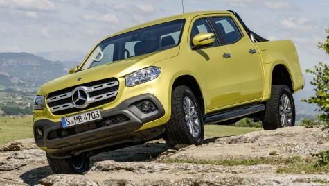 Mercedes X-Class, oficial: Totul despre noul pick-up premium
