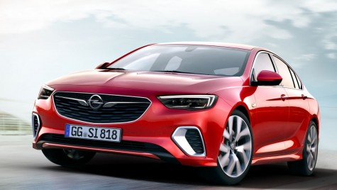 Opel Insignia GSi: Top model turbo cu 260 CP