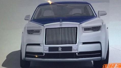 Primele imagini cu noul Rolls-Royce Phantom sunt aici