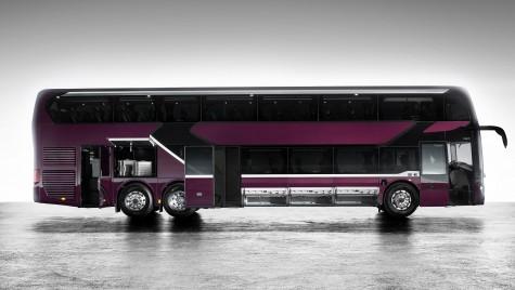 Setra S 531 DT, noul autocar etajat TopClass prezentat de Mercedes