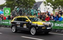 Skoda Karoq: Cel mai mic SUV Skoda a debutat în Turul Franței
