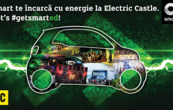 Electric Castle 2017: Smart electric drive este mașina oficială