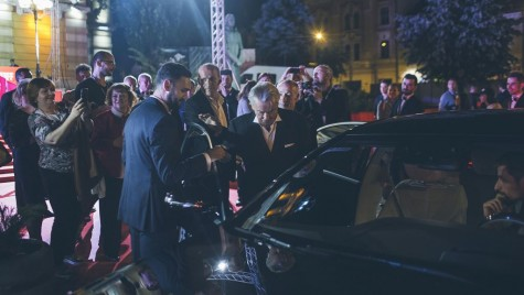 Mercedes și Alain Delon la TIFF 2017