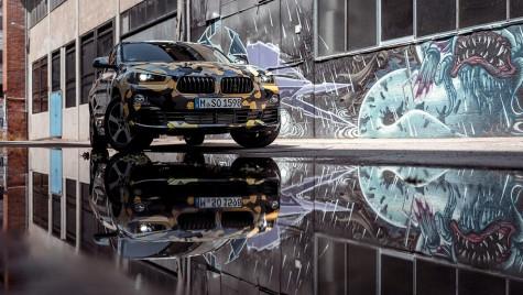 Se poartă imprimeul! Așa arată X2, mini-SUV-ul coupe de la BMW