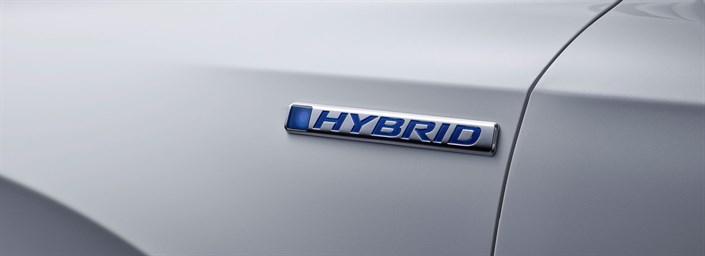 CR-V Hybrid Prototype previews European version of best-selling SUV