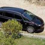 Înaintea plecării, Opel Zafira ne-a așteptat cu multă, poate prea multă, căldură. Dar s-a răcorit repede.