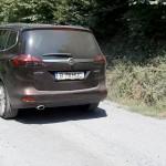 Opel Zafira a fost pregătită și pentru astfel de drumuri. În habitaclu nu s-a simțit diferență la confort.