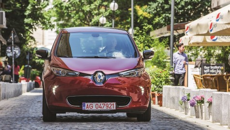 Test drive Renault Zoe ZF 40 Intens. Adio, anxietate!