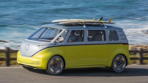 Volkswagen construiește primul microbuz electric din lume: ID Buzz