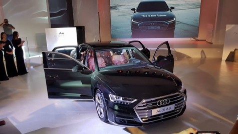 Noul Audi A8, nava-amiral a casei germane, a sosit în România
