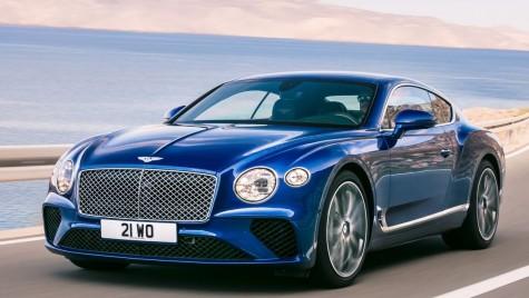 Noul Bentley Continental GT, dezvăluit oficial