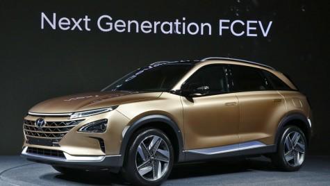 Hyundai Next FCEV: Noul SUV alimentat cu hidrogen