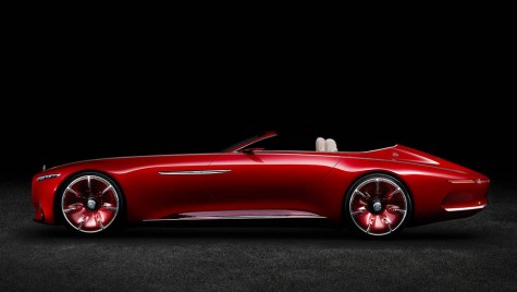Mercedes-Maybach 6 Cabrio va fi prezentat la Pebble Beach