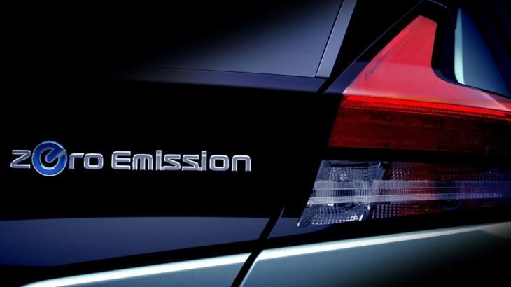 Teaser foto: Noul Nissan Leaf se lansează pe 6 septembrie