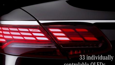 Tehnologie OLED pentru Mercedes S-Class Cabrio facelift