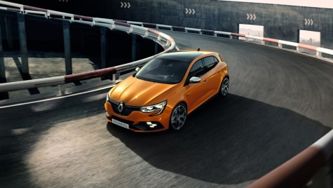 Noul Renault Megane RS a fost prezentat la Frankfurt