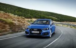 Noul Audi RS 4 Avant e mai rapid ca niciodată!