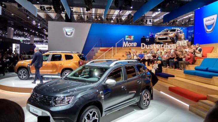 LIVE: Dacia Duster II la salonul de la Frankfurt
