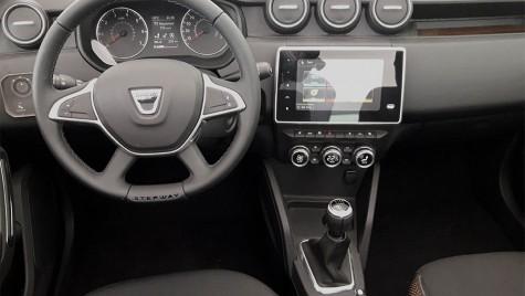 Primele fotografii cu interiorul Dacia Duster II