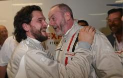 Jon Snow a fost spectator la cursa de Formula 1 de la Monza