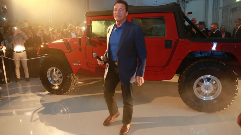Arnold Schwarzenegger Hummer