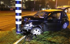 L-a salvat centura! Fotbalistul Kun Aguero a scăpat cu bine dintr-un accident rutier