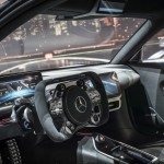 Showcar Mercedes-AMG Project ONE, zweisitziger Supersportwagen-mit modernster und effizientester Formel 1-Hybrid-Technologie, High Performance Plug-in Hybrid Antriebsstrang mit 1,6-Liter-V6-Turbobenzinmotor und vier Elektromotoren 