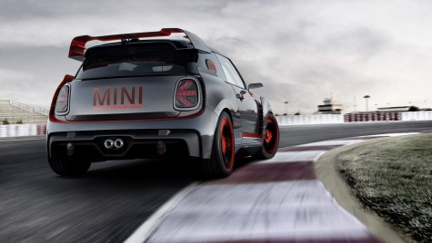 MINI John Cooper Works GP Concept: Mini face sport