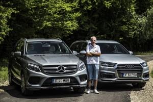 Mercedes-Benz GLE 500 e vs Audi Q7 e-tron (1)