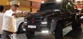 O țară prea mică pentru o mașină atât de mare! Mercedes G 63 AMG 6×6 nu se poate parca în Monaco!