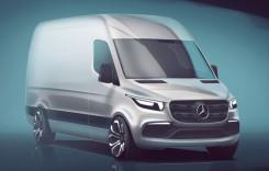 Noul Mercedes Sprinter se lansează în 2018 – prima imagine oficială