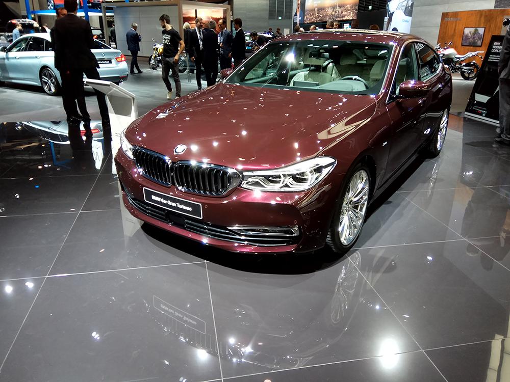 Noutatile BMW Seria 6 GT