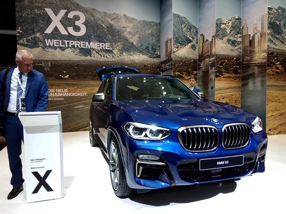 Noutățile BMW X3
