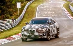 Alfa Romeo Stelvio QV, cel mai rapid SUV pe Nurburgring