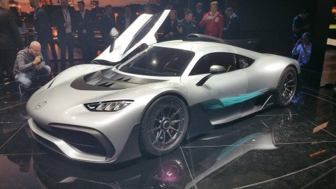 FRANKFURT LIVE: Am văzut în avanpremieră Mercedes-AMG Project One