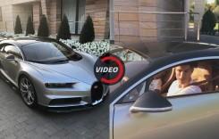 Cristiano Ronaldo și-a cumpărat un Bugatti Chiron (VIDEO)