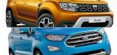 Noua Dacia Duster versus Ford EcoSport. Care este mai bun?